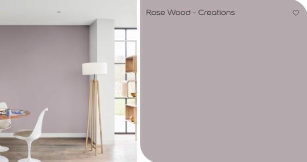 Kleur Flexa Rose Wood
