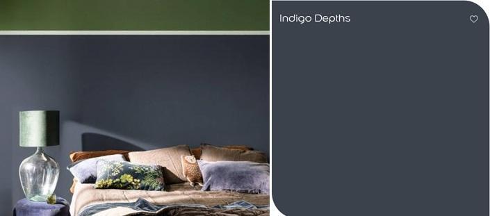 Kleur Indigo Depths