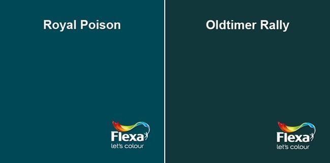 Petrol kleuren